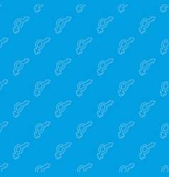 male and female symbols pattern seamless vector image