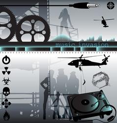 Music invasion vector