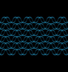 ripple wave concept background flowing lines vector image