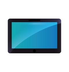 Tablet technology gadget icon vector