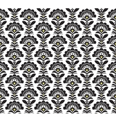 Black and white Retro pattern formate vector image