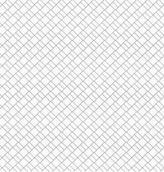 Slim gray diagonal small bricks vector image vector image