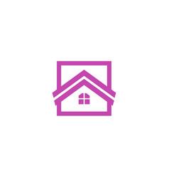 house logologo icon design template vector image