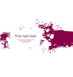 blob banner vector image vector image