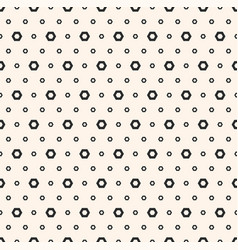Abstract black white geometric seamless texture vector