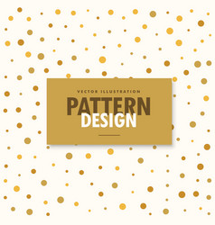 Abstract gold and white pattern background vector