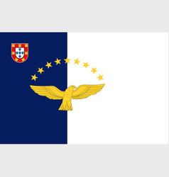 Azores flag vector
