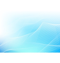 Blue Abstract Lines vector image