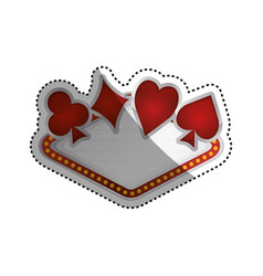 casino and gambling vector image