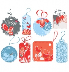 cute price tags vector image