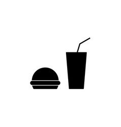 fast food icon element of travel icon for mobile vector image
