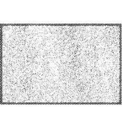 grainy halftone background vector image