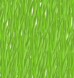 Green grass seamless pattern background natural vector