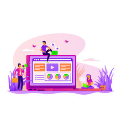 Marketing concept vector