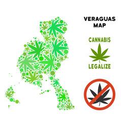 Royalty free marijuana leaves collage veraguas vector