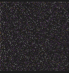 seamless pattern with program code on grey vector image