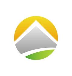 Solar-House-380x400 vector image