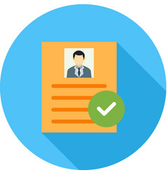 Valid user profile vector