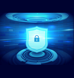 internet security technology concept background vector image