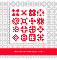 Suits for branding logo or patterns stylish vector