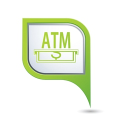 Atm GREEN pointer vector
