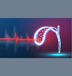 Diagnosis gallbladder for presence disease vector
