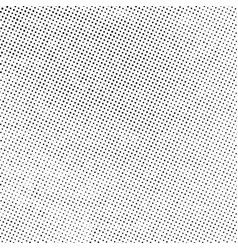grunge halftone overlay vector image