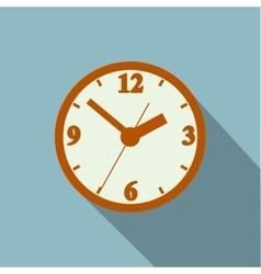 Image timer long shadow vector