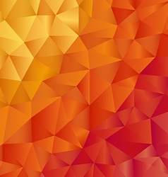 Modern leaflet template with pattern in warm color vector