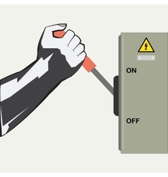 The hand and the Switch vector