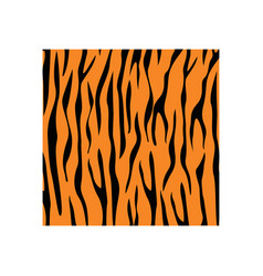 tiger skin background icon design template vector image