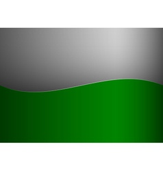 background green stripe wave one grey vector image