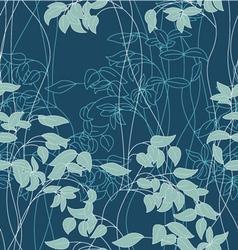 Foliage pattern vector image