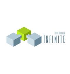 Techno Logo design template vector image vector image