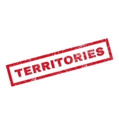 Territories Rubber Stamp vector image vector image
