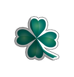 clover luck leaf vector image vector image