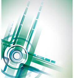 abstract intersection background vector image