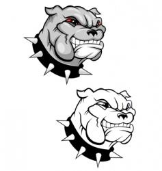 Bulldog mascot vector