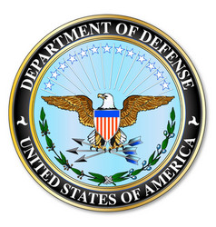 Department defense vector