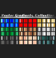 Gradient square set vector