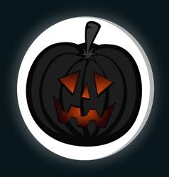 Pumpkin head vector