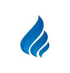 abstract swirl business logo image image vector image