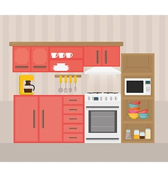 Home appliances design vector image