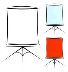 screen eps10 vector image
