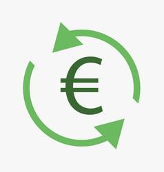 money convert icon vector image