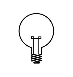 bulb light electricity idea creative image vector image