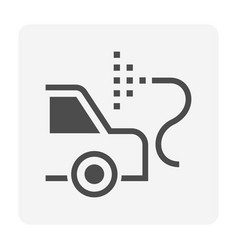 Car body paint icon vector