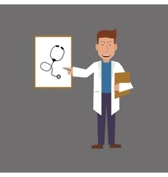 Doctor design Medical care concept Health care vector image