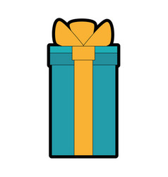 gift present box vector image