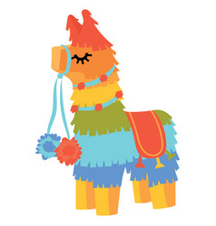pinata lama pinata with vector image